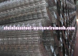 China High Tensile Stainless Wire Mesh Sheet , ss Welded Wire Mesh 4x 4 Rust Resistant on sale