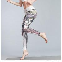 Stretching Pilates High Waisted Gym Tights Highly Soft Short Production Lead Time
