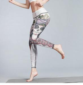 China Stretching Pilates High Waisted Gym Tights Highly Soft Short Production Lead Time on sale