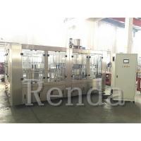 High Filling Speed 5KW 3000kg Juice Filling Machine / Equipment 110V 220V 380V