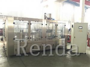 China High Filling Speed 5KW 3000kg Juice Filling Machine / Equipment 110V 220V 380V on sale