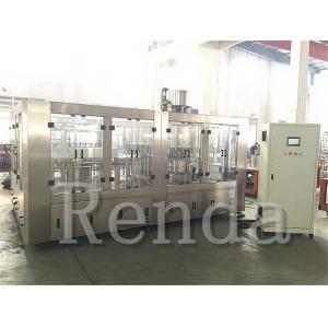 China High Filling Speed 5KW 3000kg Juice Filling Machine / Equipment 110V 220V 380V on sale