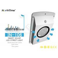 4 Days Discharge Time Intelligent Led Solar Street Light 6 - 120W 3M IP65