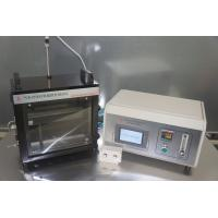 Automobile Interior Material Flammability Tester With ISO 3795 Carbon Sheet Metal