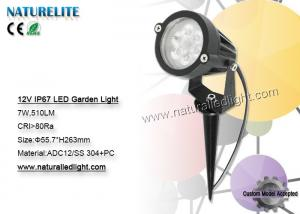 China 7W IP67 LED Garden Light , 12v Led Landscape Lighting Super Bright on sale