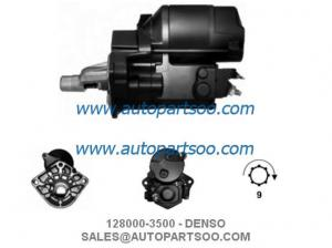 China 128000-3500 128000-7500 - DENSO Starter Motor 12V 1.4KW 9T MOTORES DE ARRANQUE on sale