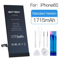 MSDS Lithium Ion Battery Iphone Rechargeable Oem Apple 6s Phone Battery