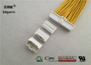 China 2mm Pvc Molex Microclasp Pitch , 16 Pin Wire To Board Power Connector  on sale