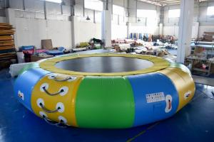 China Commercial Grade Cheap Inflatable Water Trampoline With EN15649 on sale