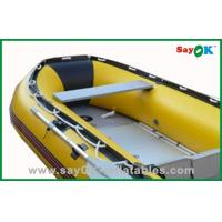 Fire Resistant 4 Man PVC Inflatable Boats Outdoor Fishing Paddle Boats