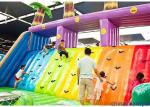 Various Color PVC Material  Inflatable Castle For Many Water Parks
