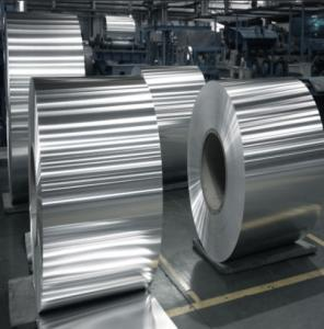 China Anti - Static Aluminum Sheet Coil Aluminium Strip 2mm Tensile Strength on sale