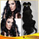 Natural Wave Long Virgin Human Hair Extensions With No Shedding