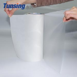 China Double Sided Hot Melt Film Polyester Adhesive For Fabric Lamination on sale
