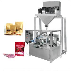 China Multihead weigher Candied fruites doypack packing machine on sale