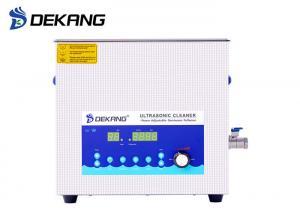 China 15L Ultrasound Cleaning Machine , Dual Frequency Ultrasonic PCB Cleaning Machine on sale
