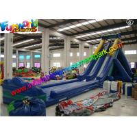 CE / UL Double Lanes Giant Inflatable Slide Commercial Grade