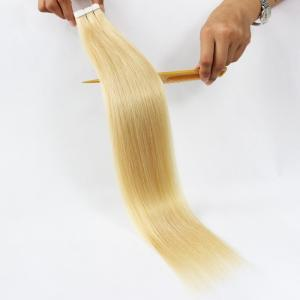 China Factory Price Unprocessed Blonde Brazilian Virgin Tape Hair Extension on sale