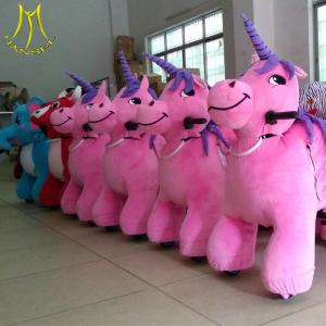 China Hansel children's electric motorcycles for children zoo animal stuffed animals unicorn on sale
