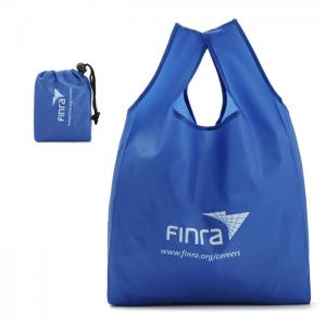 China Washable Custom Tote Bags / 100 % Polyester Folding Shopping Bags on sale