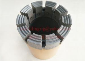 China Wireline Impregnated Diamond Core Drill Bit With 10mm / 12mm / 14mm Crown Height on sale