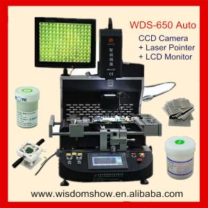 China WDS-650 Automatic optical alignment BGA rework station mobile phone repair software for PC on sale