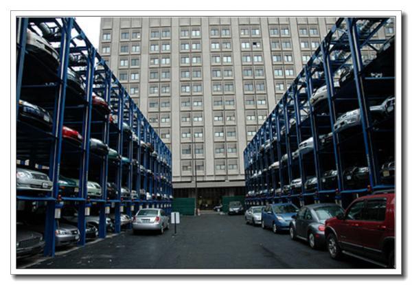 2 3 4 Floor Smart Car Lift Parking System Quad Stacker