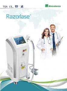 China Permanent Diode Laser Hair Removal Machine Painless Energy Density Max 120j / Cm2 on sale