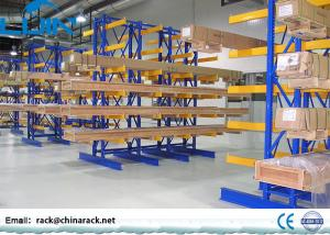 China Warehouse Cantilever Storage Racks 200-2500kg / Arm Load Long Section Steel on sale
