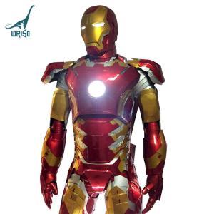 China New Design Life Size Iron Man Mark XLIII Costume on sale