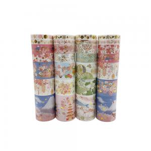 China 30 Designs 7pcs/Box Japanese Kawaii Cartoon Adhesive Masking Washi Tapes For Bullet Journal Scrapbooking Decoration on sale