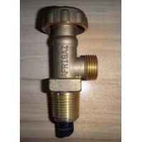 China Safety Brass Cylinder Lp Gas Valve , Propane Control Valves TL-HS-13 on sale
