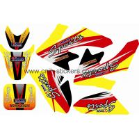 China MOTOCROSS GRAPHIC KIT STICKER HONDA CRF50 on sale