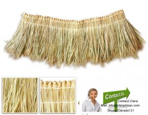 Tropical Real Palm Leaf Thatched Roofing Cover For Sale