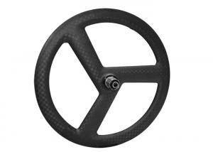 China 20 Inch Folding 3 Spoke Bicycle Wheels , Kids Lightweight Carbon Wheels on sale