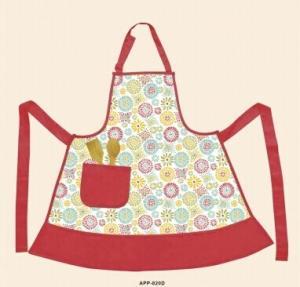 China Eco friendly fashion Waterproof Apron Kitchen Textiles Set 78.5x94cm on sale