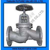 China GOST PN16 Cast Iron Globe Valve / Stop Valve on sale