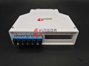 China 12 SC Ports Fiber Optic Termination Box , DIN Termination Box ABS on sale