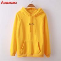 Kawasaki wholesale custom hoodie Fashionable woman pullover hoodie