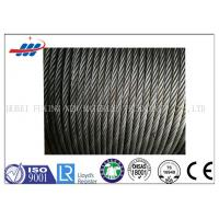 China 6-48mm Wire Gauge Strong Wire Rope Ungalvanized For Crane , High Strength on sale