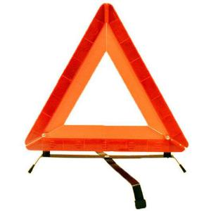 China Reflecting portable traffic sign and LED Reflective warning triangle for car road way safe on sale