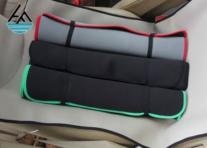China Foam Universal Neoprene Seat Cover , Neoprene Car Seat Covers Polyester Fabric on sale