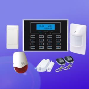China リモート・モニタリングのための全機能塔載のキーパッドが付いている無線gsmの警報システム on sale