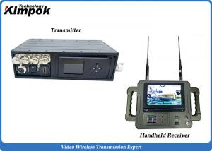 China 5-10km Long Range Wireless COFDM Video Transmitter and Receiver Low Latency on sale