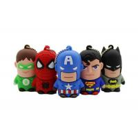 China OEM Silicone Rubber Cartoon Character Shape PVC USB Flash Pen Drive 4GB 8GB on sale