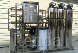 China 500 LPH Industrial RO Water Treatment Systems Commercial Water Purification System on sale