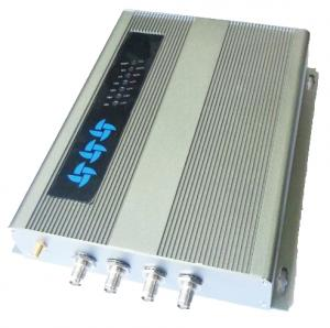 China 4 Channel UHF RFID Reader with Impinj R2000 Chip and RS232 Communications on sale