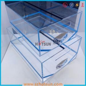 2016 Acrylic Sneaker Box, Acrylic Shoe Box, Shoe Storage Box Display Rack