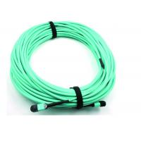 MPO Fiber optic Patch Cord 50 / 125 OM3 12C for High Speed Data Center