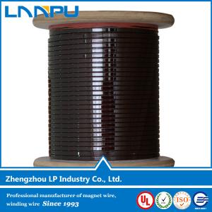China New Technology Polyamide-imide Enameled Flat Copper Wire on sale